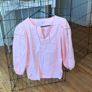 Pink loft blouse